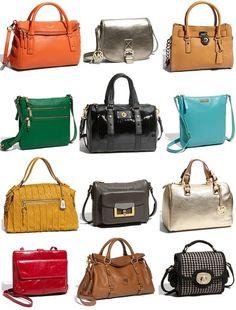 Handbags! Handbags! Handbags!  One of Mom's favorite accessories ♥