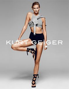 Karlie Kloss for Kurt Geiger Spring Summer 2016 Campaign
