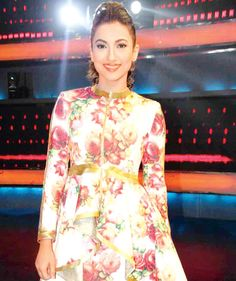 Gauahar (Gauhar) Khan on 'I Can Do That'. #Bollywood #Fashion #Style #Beauty #Hot #Sexy