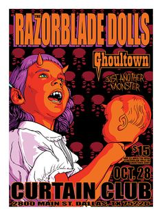 Piece I did for Razorblade Dolls & Ghoultown.