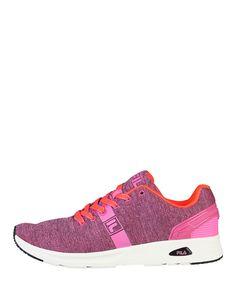 Fila, scarpe donna - sneakers stringate basse - tomaia in materiale sintetico e tessuto - interno tessuto, suola gomma   - Sneaker donna skydive Rosa