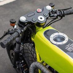 Moto Guzzi V9 FlatTrack/Cafe by Untitled Motorcycles #motorcycles #flattracker #motos | caferacerpasion.com