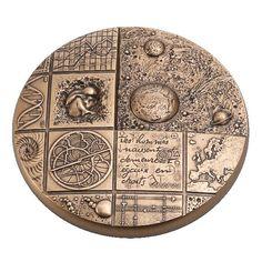Cosmos Presse-papiers en Bronze -  - Médaille des Monnaies de Paris - Bronze florentin - 91 € Personnalisable