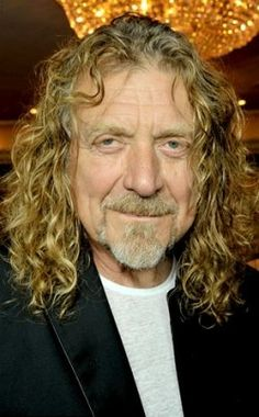 Robert Plant, today. Wine, women, and song and no plastic surgery.