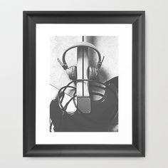 """electric"" Framed Art Print by Konrad Pitala - $34.00"