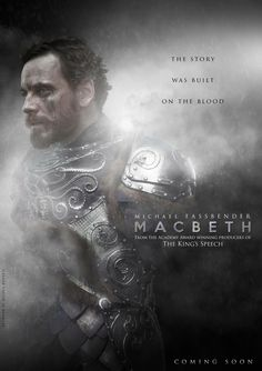 Wow, Weinstein is going for the gold this year with Macbeth! I love how Michael's name is above the title.
