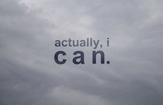 Yes I can.
