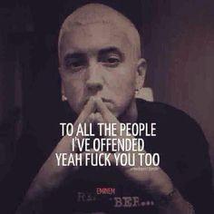 Eminem Fuck You Too 45