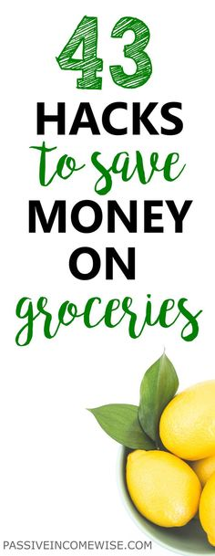 This list helped us to cut down our groceries expenses up to 50%. Make sure you apply more than one of these hacks to see results and save money on groceries from today. How to save money on food, meal planner, how to eat healthy, super cheap meals, food on a budget, frugal shopping, save money on groceries