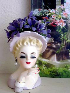 Vintage60sInarcoHead by divelegant on Etsy