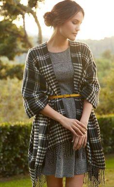 20 Ways To Wear A Blanket Scarf