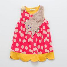 baby cheer ウサギジャンパースカート[80cm-90cm] | ☆babycheer | ONE PIECES | ミリカンパニーリミテッドオンラインショップ