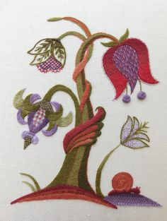 Jacobean Embroidery, Hand Embroidery Patterns, Embroidery Stitches, Coloring Easter Eggs, Design Elements, Needlework, Cross Stitch, Kids Rugs, Texture