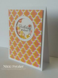 Scrappin' Navy Wife: Birthday Wishes Shaker