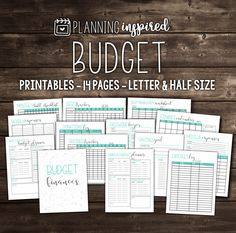 50% OFF Budget Printables Printable Budget Planner 14 Pages