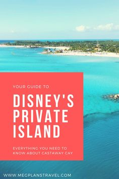 Learn all about Disney's private island, Castaway Cay.  Accessible only by Disney Cruise Line ships, this family-friendly island is an oasis for kids and parents alike! Read more to see what a day on the island is like! Friendly Islands, Sand Volleyball Court, The Castaway, Boat Rental, Disney Cruise Line, Sandy Beaches, Kayaking, Oasis, Trip Advisor