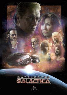 -Battlestar Galactica- - battlestar-galactica fan art