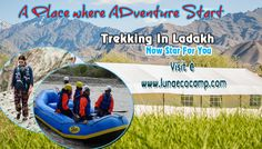 Luna offer you trekking, rafting, camping in leh ladakh region. checkout our details call at given numbers. Thanks