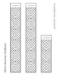 Printable Native American Headband Coloring Page Super Cola, Berber Tattoo, African Symbols, Beer Opener, Concrete Crafts, Pattern Library, Templates Printable Free, Fabric Patterns, Small Tattoos