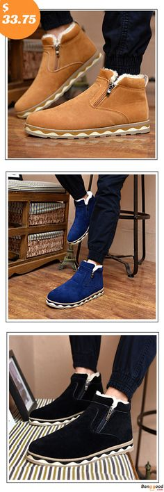 check out c49c7 10bd5 Winter Boots, Winter Shoes for Men, Cotton Boots