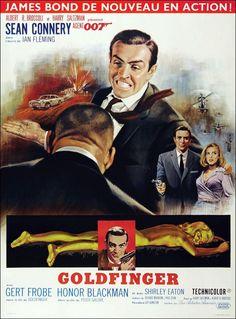 jean mascii | JEAN MASCII, GOLDFINGER, 1964. | Raiders of the Lost Art | Pinterest