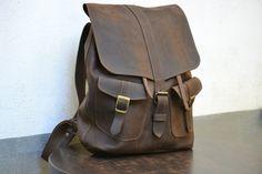 60e79bfd5de7 Genuine Leather Backpack. Designer Backpack. by ClassyWallets Vintage  Leather Backpack