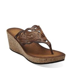 65e67ba329d Mimmey Anne in Honey Synthetic - Womens Sandals from Clarks