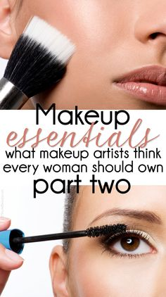 Makeup Essentials: Must Haves From #Makeup Artists! What every woman needs in her makeup bag! PROMOTIONS Real Techniques brushes makeup -$10 http://youtu.be/1K9DegfjvsI #realtechniques #realtechniquesbrushes #makeup #makeupbrushes #makeupartist #makeupeye #eyemakeup #makeupeyes