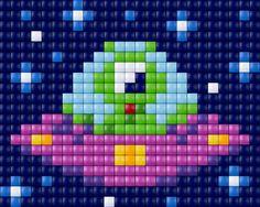 Alien pattern - Pixelhobby / Pixelgift