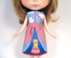 DIY Blythe Circus Dress
