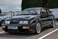 Hot Diggity damn this is a nice car Ford Rs, Car Ford, Ford Sierra, Ford Motor Company, Classic Cars British, British Car, Bbs, Ford Motorsport, New Luxury Cars
