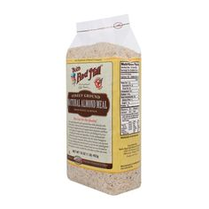 Natural Almond Meal/Flour - use in place of graham cracker crumbs - Possible splenda cheesecake?