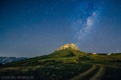 Stars around the Helderberg mountain - Somerset West - Cape Town (photo Clifford Wort)
