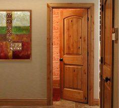 Arch Top Interior Door | Knotty alder interior doors