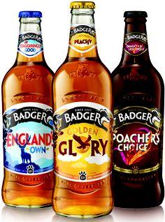 brandopus redesigns badger ales. For all our #beer loving #packaging peeps. PD