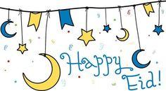 Happy Eid (English Eid Greeting)