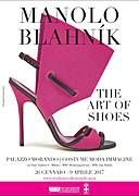 """La Mostra Manolo Blahnik. The art of shoes. Definito """"lo scultore delle scarpe"""". Aperta fino al 9/4/17"""