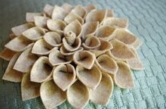 another type of felt flower! by alisa