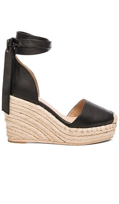 Shop for RAYE Dahlia Espadrille Wedge in Black at REVOLVE. Free 2-3 day shipping and returns, 30 day price match guarantee.