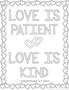 Free Bible Verse Coloring Pages … | Pinteres…