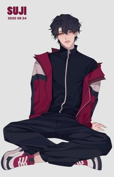 Anime Black Hair, Black Hair Boy, Character Inspiration, Character Art, Character Design, Hot Anime Couples, Pastel Goth Art, Anime W, Cool Anime Guys
