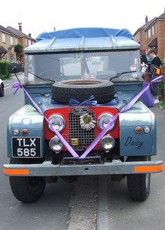 "TLX 585 1957 serie2A 109"" Landrover Defender, Defender 90, Off Road, Land Rovers, Wedding Car, Car Photos, Range Rover, Jeeps, Landing"