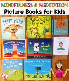 Are you looking for engaging picture books for kids about mindfulness and meditation? These books are true gems and will help your students to easily understand being more mindful, quieting the mind, and practicing meditation. Mindfulness For Kids, Mindfulness Activities, Mindfulness Meditation, Mindfulness Practice, Meditation Kids, Teaching Mindfulness, Mindfulness Training, Reiki Meditation, Daily Meditation