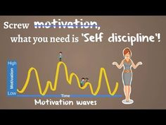Motivation is fleeting inconsistent but Self-Discipline is constant. It can developed like a muscle. It help to create habit and habit works automatic.