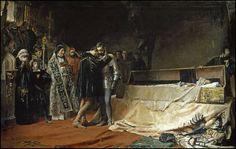 La conversión del duque de Gandía, de José Moreno Carbonero.