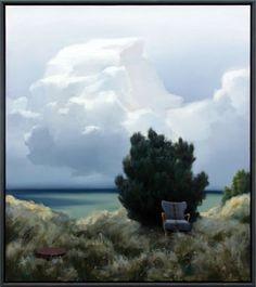 Himmelbjerge over havet Masters, Clouds, Artist, Inspiration, Outdoor, D Day, Kunst, Master's Degree, Biblical Inspiration