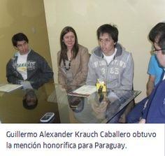 Camino al Paraguay: Un estudiante paraguayo fue condecorado con una Mención Honorífica en la Olimpiada Iberoamericana de Física.