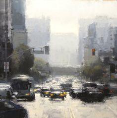 Midday Haze in Blue by Jeremy Mann