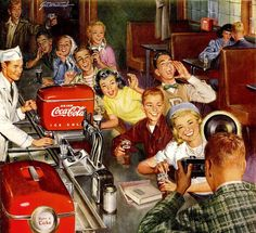 Coca-Cola. Real Refreshment jigsaw puzzle in People puzzles on TheJigsawPuzzles.com
