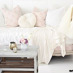 Shabby Cottage, French Country Decorating, Comfy, Living Room, Bed, French Interiors, Romantic, English, Videos